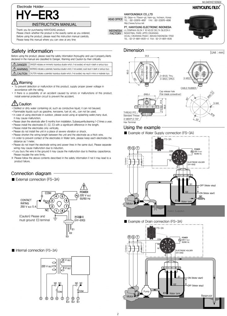Catalogue HY-ER3